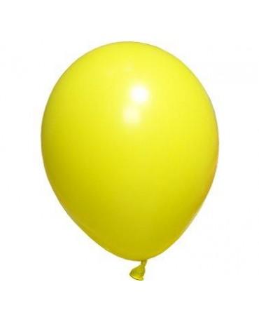 Pastelové balóny žlté 12'' 100ks
