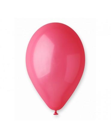 Pastelové balóny červené 12'' 100ks