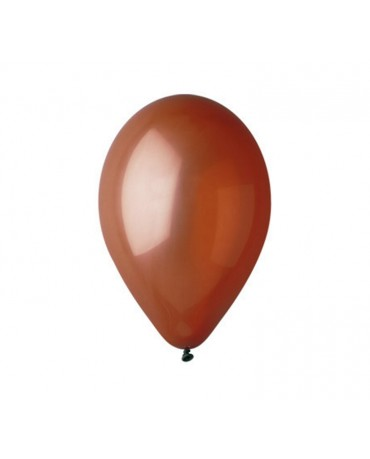 Pastelové balóny hnedé 12'' 100ks
