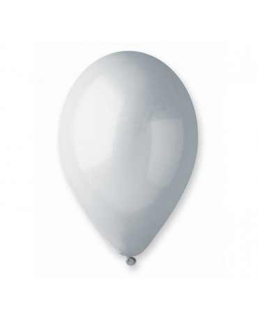 Pastelové balóny šedé 12'' 100ks