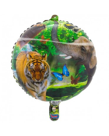 Fóliový balón Safari party 43cm