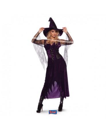Kostým čarodejnica fialový L/XL