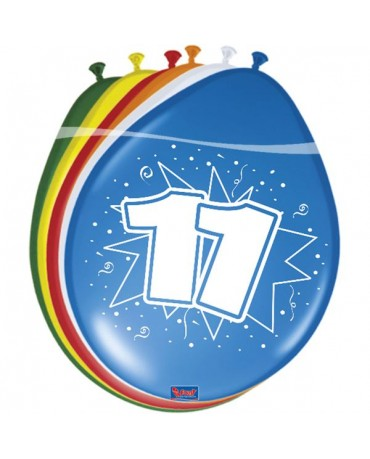 Latexové balóniky 11yo 30 cm 12ks