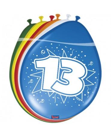 Latexové balóniky 13yo 30 cm 12ks