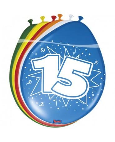 Latexové balóniky 15yo 30 cm 12ks