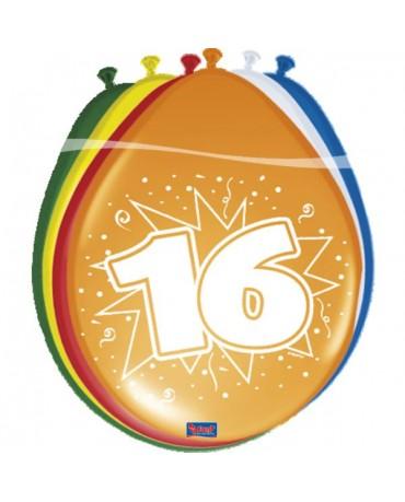 Latexové balóniky 16yo 30 cm 12ks