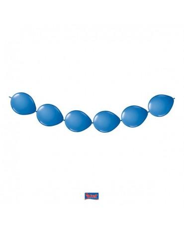 Latexové balóniky modré 3m 8ks