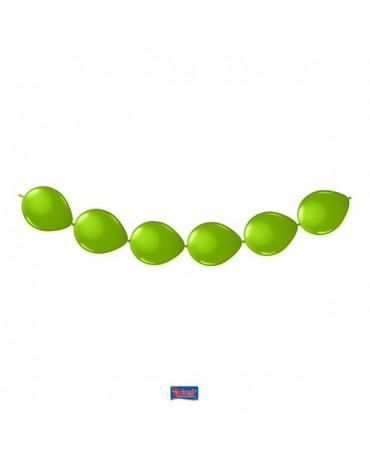Latexové balóniky zelené 3m 8ks