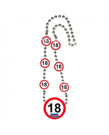 Náhrdelník 18 dopravná značka