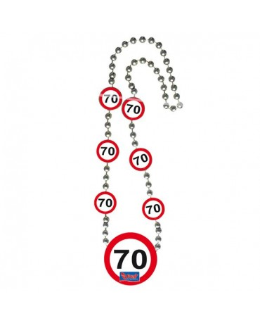 Náhrdelník 70 dopravná značka