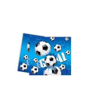 Obrus futbal- modrý 120x180 cm