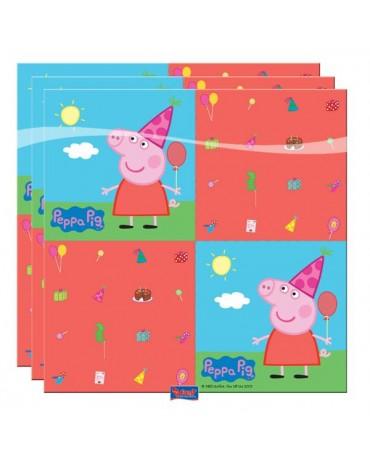 Servítky Peppa Pig 33 x 33cm 20ks