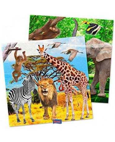 Servítky Safari party 33x33cm 20ks