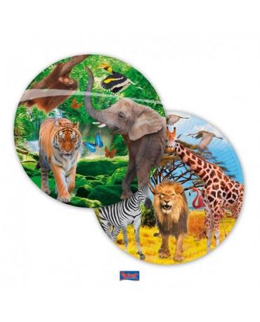 Tanieriky Safari party 23cm 8ks
