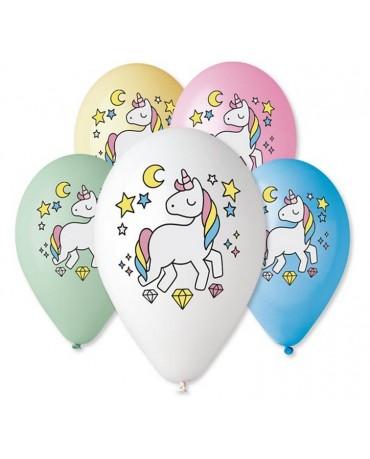Latexové balóny jednorožec 12'' 5ks