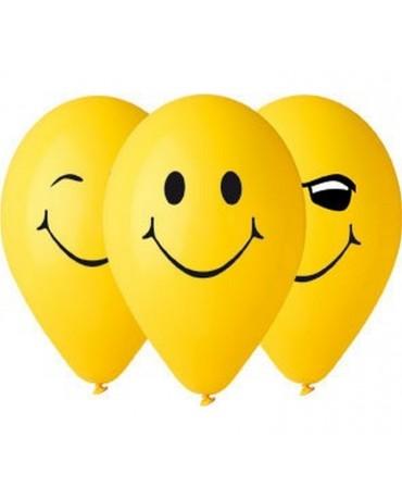 Latexové balóny smajlíci 12'' 10ks