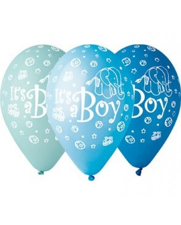 Latexové balóny ''It s a Boy'' 12'' 10ks