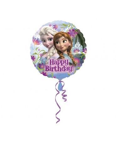 Fóliový balón Happy Birthday- FROZEN 47cm