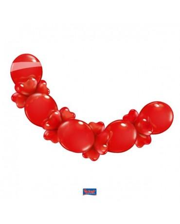 Balónová girlanda Love 2,1m