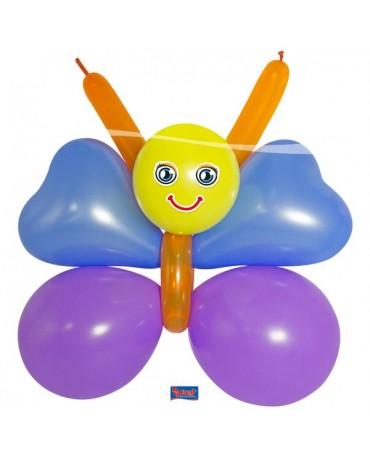 Balónový set motýlik