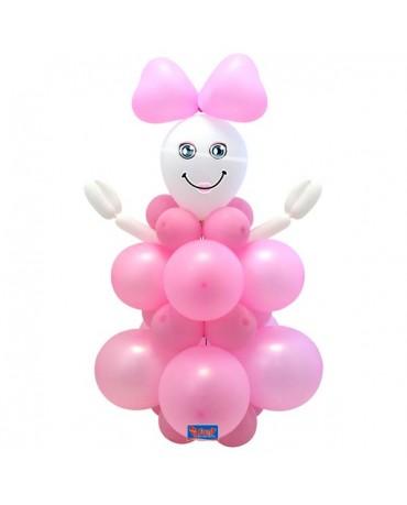 Balónový set baby girl