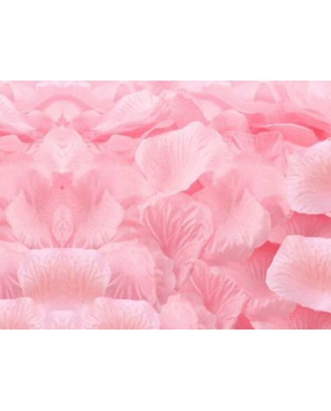 Dek. lupene ruží - bledoružové 500ks