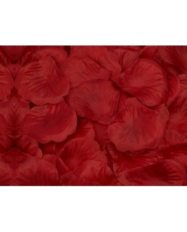 Dek. lupene ruží - bordové 500ks