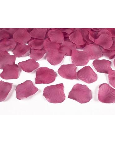 Dek. lupene ruží -ružové 500ks