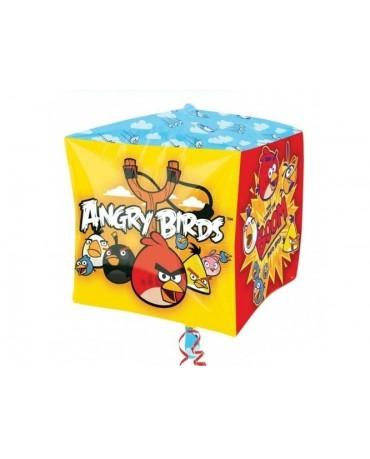 Fól. balón- kocka Angry Birds