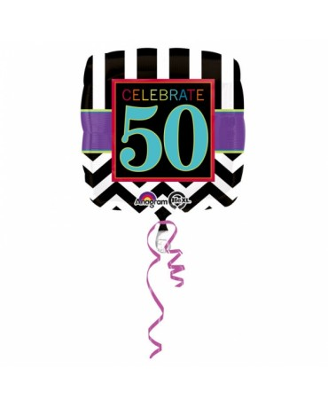 Fól. balón Celebrate 50 v