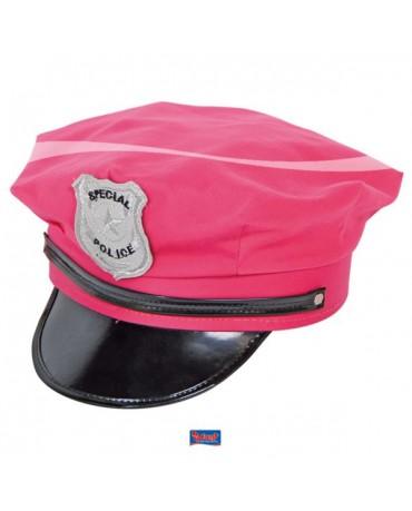 Policajná čiapka ružová