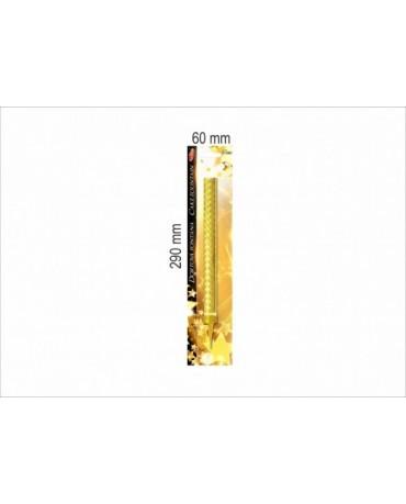 Tortová fontána 12cm zlatá 100ks/1ctn