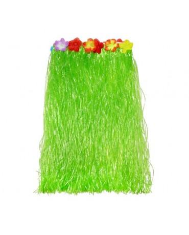 Havajská sukňa - zelená- veľkosť  M