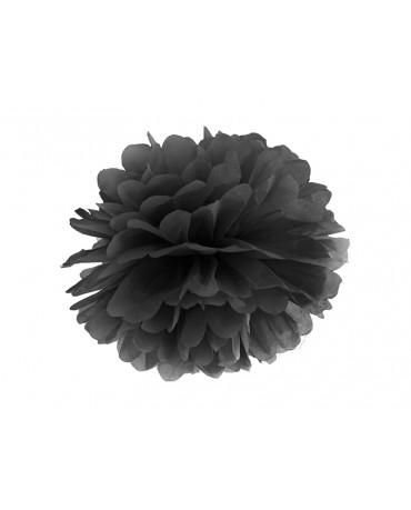 Pompón -čierny 35cm