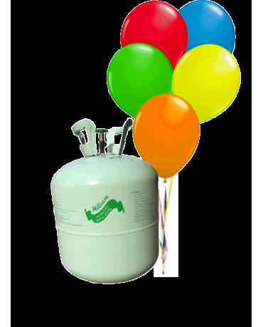 Hélium 30 balónkové s balónikmi