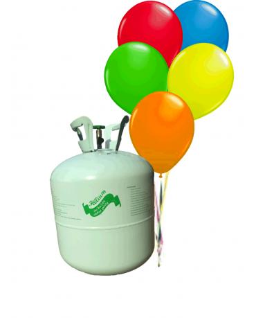 Hélium 50 balónkové s balónikmi