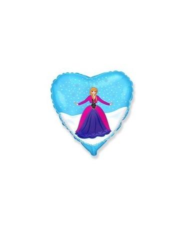 """Fól. balón srdce- Anna 18"""""""
