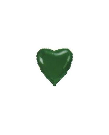 Fól. balón srdce- zelené