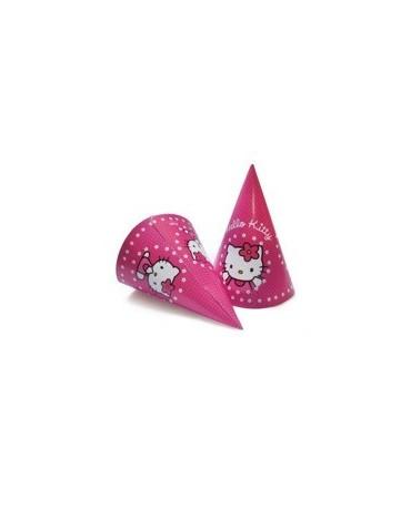 Klobúčik Hello Kitty - 6 ks