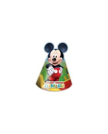 Klobúčik Mickey Mouse 6ks