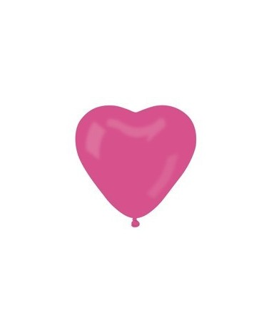 Latex. bal. srdce- ruž. 10ks