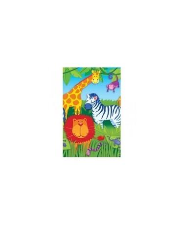 Obrus zvieratká v džungli 137 x 259 cm- 1ks