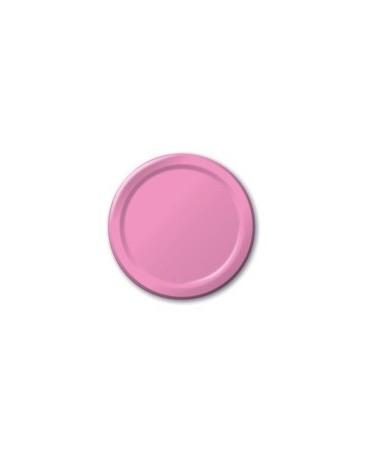 Tanieriky - ružové 18 cm 8ks