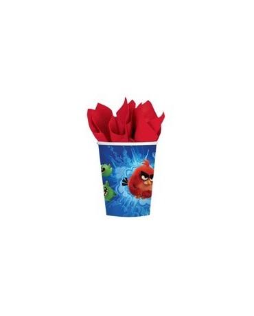 Poháre Angry Birds Movie - 266 ml - 8 ks