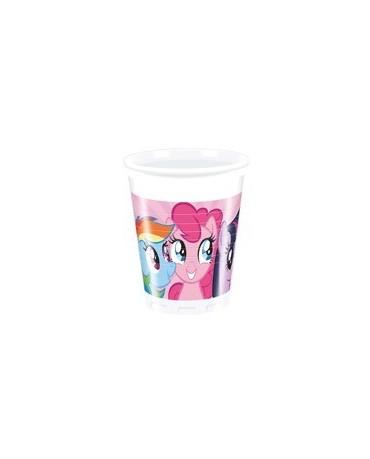 Poháre My Little Pony Rainbow - 200 ml - 8 ks