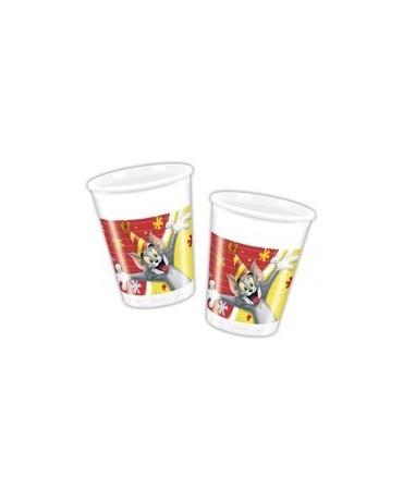 Poháre Tom & Jerry - 200 ml - 8ks