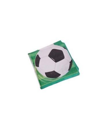 Servítky futbal 33 cm 16ks