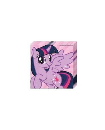 Servítky My Little Pony Rainbow - 33 cm - 20ks