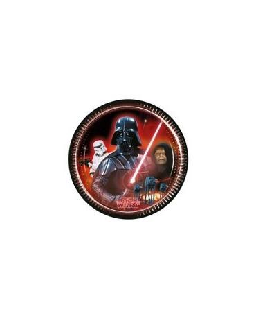 Tanieriky Star Wars 23 cm - 8 ks
