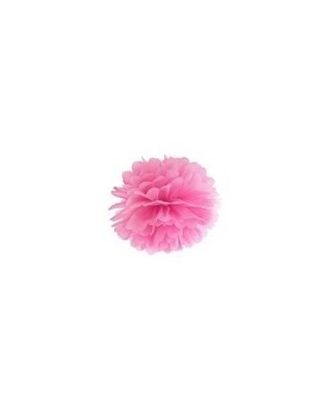 Pompón -ružový 25cm